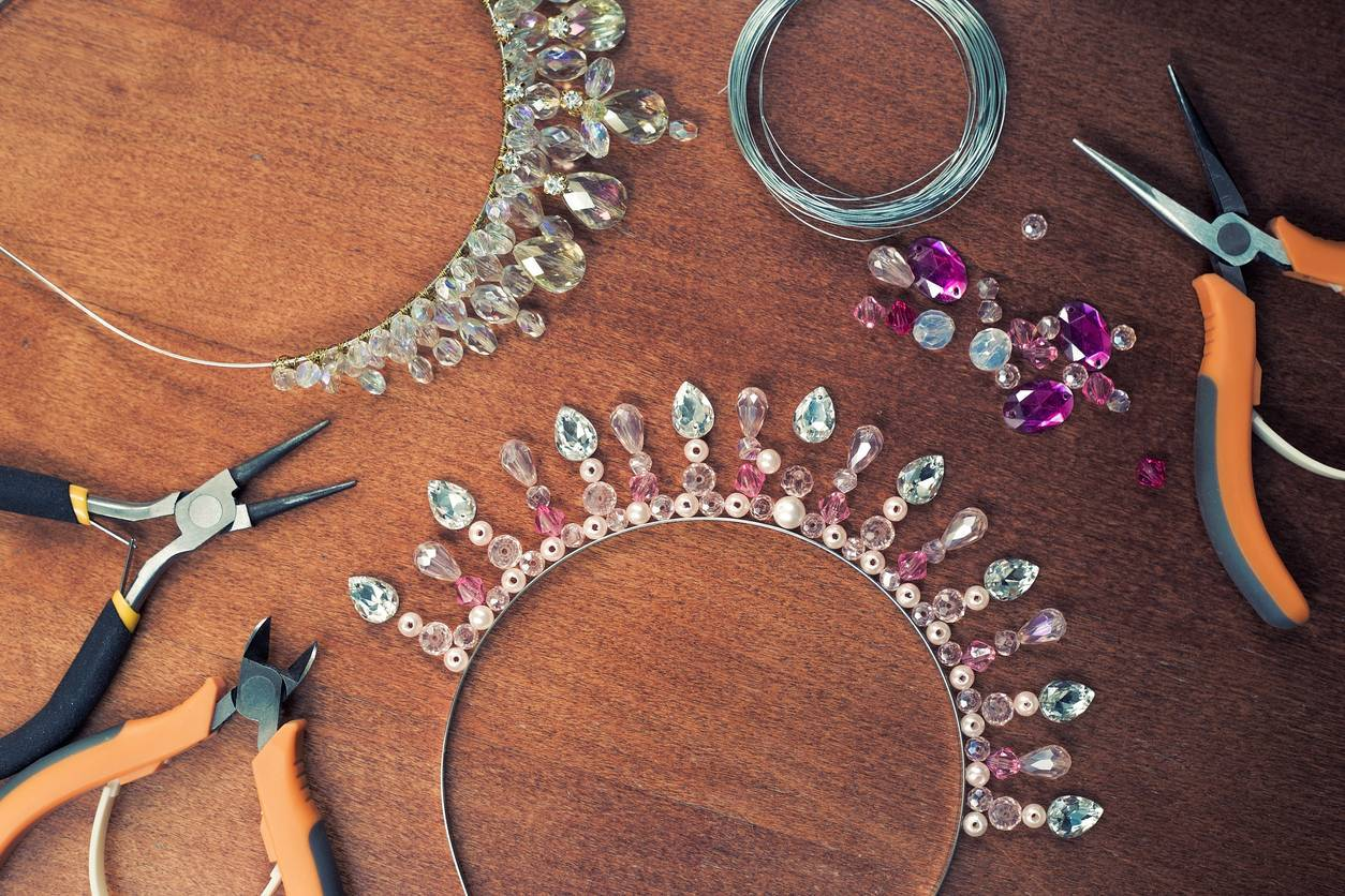 créer collier en perles