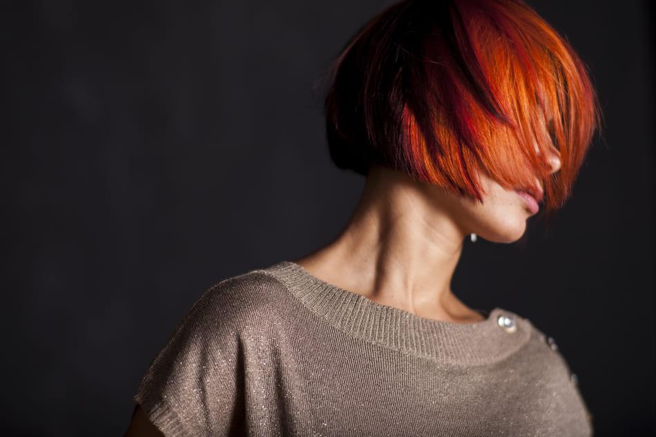 cheveux de couleur naturel